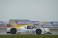 Morten Dons (DNK) / Ross Warburton (GBR) / Ossy Yusuf (GBR)  #15 RLR Msport, Ligier JS P3, Nissan VK50VE 5.0 L V8, during Free Practice 1  as part of the ELMS 4 Hours of Silverstone 2016 at Silverstone, Towcester, Northamptonshire, United Kingdom. April 15 2016. World Copyright Peter Taylor. Copy of publication required for printed pictures.