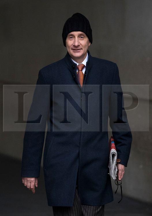 © Licensed to London News Pictures. 21/01/2018. London, UK. Former Labour Party politician ANDREW ADONIS is seen leaving Broadcasting House in London following a radio appearance.  Photo credit: Ben Cawthra/LNP