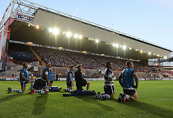Replacements look on - Photo mandatory by-line: Dougie Allward/JMP - Mobile: 07966 386802 - 20/05/2015 - SPORT - Rugby - Bristol - Ashton Gate - Bristol Rugby v Worcester Warriors - Greene King IPA Championship - Play-Off Final