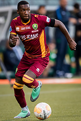 Sheraldo Becker of ADO Den Haag during the Pre-season Friendly match between ADO Den Haag and Panathinaikos at the Cars Jeans Stadium on July 28, 2018 in The Hague, The Netherlands