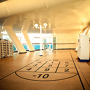 Shuffle Board Deck on the Sapphire Princess