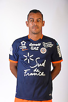 Vitorino Hilton during the photocall of Montpellier for new season of Ligue 1 on September 27th 2016 in Montpellier<br /> Photo : Mhsc / Icon Sport