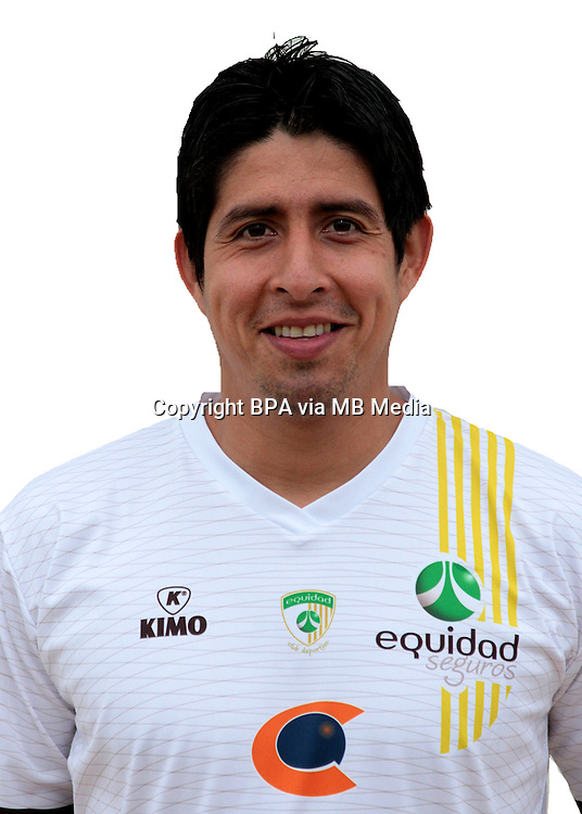 Colombia League - Postobom Liga 2014-2015 - <br /> Club Deportivo La Equidad - Colombia / <br /> Daniel Briceno