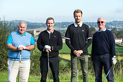 Chris Lines of Bristol Rovers joins team Floggers as they take part in the annual Bristol Rovers Golf Day - Rogan Thomson/JMP - 10/10/2016 - GOLF - Farrington Park - Bristol, England - Bristol Rovers Golf Day.