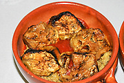 Home cooking - grilled eggplant