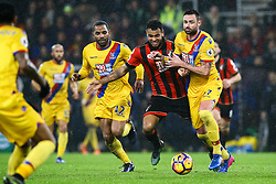 Joshua King of Bournemouth is fouled by Damien Delaney of Crystal Palace - Mandatory by-line: Jason Brown/JMP - 31/01/2017 - FOOTBALL - Vitality Stadium - Bournemouth, England - Bournemouth v Crystal Palace - Premier League
