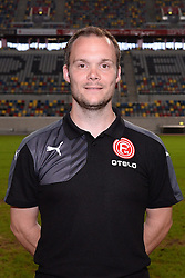 02.07.2015, Esprit Arena, Duesseldorf, GER, 2. FBL, Fortuna Duesseldorf, Fototermin, im Bild Physiotherapeut Thomas Gucek ( Fortuna Duesseldorf / Portrait ) // during the official Team and Portrait Photoshoot of German 2nd Bundesliga Club Fortuna Duesseldorf at the Esprit Arena in Duesseldorf, Germany on 2015/07/02. EXPA Pictures &copy; 2015, PhotoCredit: EXPA/ Eibner-Pressefoto/ Thienel<br /> <br /> *****ATTENTION - OUT of GER*****