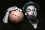 MASON, OH - AUGUST 24: (EDITORS NOTE: THIS IMAGE HAS BEEN DIGITALLY DESATURATED) Da'Sean Butler of the San Antonio Spurs of the NBA during a portrait session on August 24, 2011 in Mason, Ohio. (Photo by Joe Robbins)