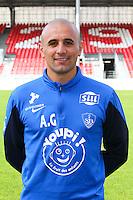 Anthony GRECH ANGELINI - 08.09.2014 - Photo officielle Brest - Ligue 2 2014/2015<br /> Photo : Maxime Kerriou / Icon Sport