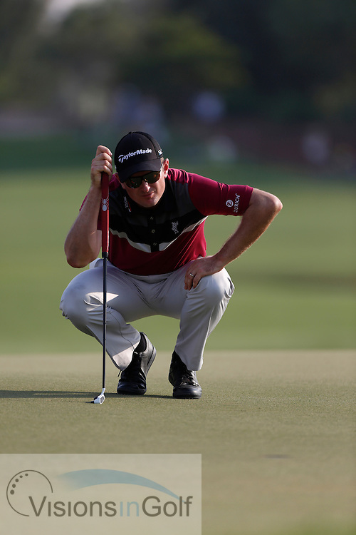 Justin Rose<br /> during the second round of the Race To Dubai DP World Tour Golf Championship, Dubai, UAE November  2013<br /> Picture Credit:  Mark Newcombe / www.visionsingolf.com
