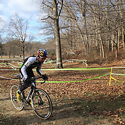 Timothy Johnson winning the Men's Open Race during the Cyclo-Cross, Supercross Cup 2013 UCI Weekend at the Anthony Wayne Recreation Area, Stony Point, New York. USA. 24th November 2013. Photo Tim Clayton