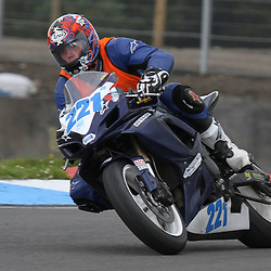 Anthony Robson from Stockton - On - Tees in action at the the annual visit to Knockhill of the North East MCRC Championship round. STEPHEN LAWSON|STOCKPIX