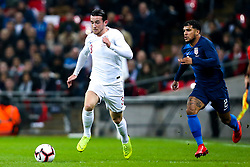 Ben Chilwell of England goes past DeAndre Yedlin of USA - Mandatory by-line: Robbie Stephenson/JMP - 15/11/2018 - FOOTBALL - Wembley Stadium - London, England - England v United States of America - International Friendly