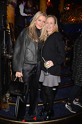 Left to right, Amanda Wakeley and Astrid Harbord at the SheInspiresMe Dance in aid of Women for Women International held at the Café de Paris, 3 Coventry Street, London England. 25 January 2017.