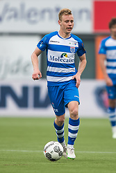 Rick Dekker of PEC Zwolle during the Dutch Eredivisie match between PEC Zwolle and Willem II Tilburg at the MAC3Park stadium on April 29, 2018 in Zwolle, The Netherlands