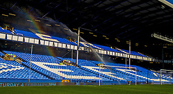 LIVERPOOL, ENGLAND - Monday, January 2, 2017: Everton's Goodison Park bathed in winter sunshine before game against Southampton in the FA Premier League match at Goodison Park. (Pic by Gavin Trafford/Propaganda)