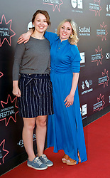 Edinburgh International Film Festival, Monday, 25th June 2018<br /> <br /> JELLYFISH (European Premiere)<br /> <br /> Pictured: Liv Hill and Sinead Matthews<br /> <br /> (c) Alex Todd | Edinburgh Elite media