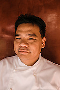 Chef Luu Meng at restaurant Malis, Phnom Penh