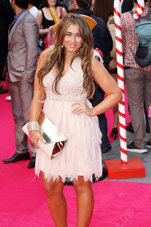 03.JULY.2012. LONDON<br /> <br /> LAUREN GOODGER ATTENDS THE UK PREMIERE OF KATY PERRY PART OF ME 3D AT THE EMPIRE CINEMA, LEICESTER SQUARE.<br /> <br /> BYLINE: EDBIMAGEARCHIVE.CO.UK<br /> <br /> *THIS IMAGE IS STRICTLY FOR UK NEWSPAPERS AND MAGAZINES ONLY*<br /> *FOR WORLD WIDE SALES AND WEB USE PLEASE CONTACT EDBIMAGEARCHIVE - 0208 954 5968*