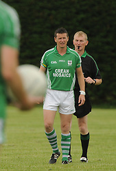 Charlestown&rsquo;s Aidan Higgins made a return to senior football last weekend.<br /> Pic Conor McKeown