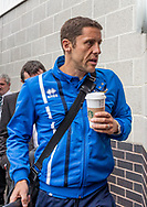 Michael Brown manager of Port Vale arrives during the Sky Bet League 2 match at  Checkatrade.com Stadium, Crawley<br /> Picture by Liam McAvoy/Focus Images Ltd 07413 543156<br /> 05/08/2017