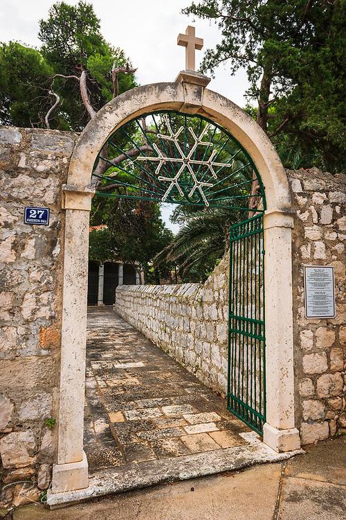 St Stephen Church, Zaton, Dalmatian Coast, Croatia