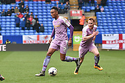 Reading Midfielder,  Jordan Obita  on the ball during the Sky Bet Championship match between Bolton Wanderers and Reading at the Macron Stadium, Bolton, England on 2 April 2016. Photo by Mark Pollitt.