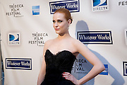 "Evan Rachel Wood at Woody Allen's new movie ""Whatever Works"" premiered April 22, 2009 at the Tribeca Film Festival - Ziegfeld Theatre, New York."