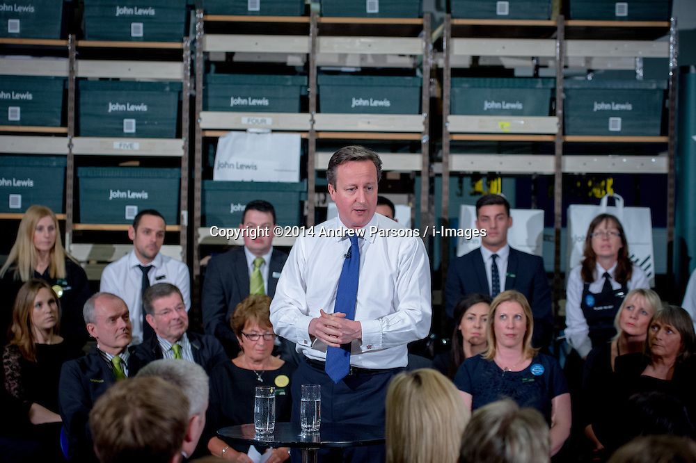 The Prime Minister David Cameron visits the North West,  United Kingdom. Picture by Andrew Parsons / i-Images