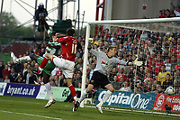 Photo: Rich Eaton.<br /> <br /> Nottingham Forest v Yeovil Town. Coca Cola League 1. Play off Semi Final 2nd Leg. 18/05/2007. Forests Scott Dobie #10  scores a second half equalizer to make it 1-1