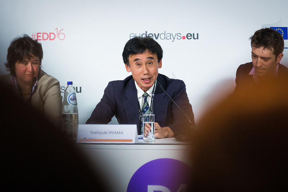 20160615 - Brussels , Belgium - 2016 June 15th - European Development Days - The people's peace - Time to think urban - Toshiyuki Iwama - Executive Technical Adviser to the Director General, Infrastructure and Peacebuilding Department Japan International Cooperation Agency © European Union