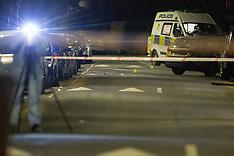 2018-04-17   - SWNS -  Forest Gate murder scene