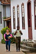 Jeceaba_MG, Brasil...Pessoas na rua em Jeceaba, Minas Gerais...The people on the street in Jeceaba...Foto: JOAO MARCOS ROSA / NITRO.