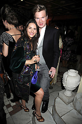 CARMEN HAID and HENRY CONWAY at a party to celebrate the launch of Atelier-Mayer.com held at 83 Princedale Road, London W11 on 15th January 2009.