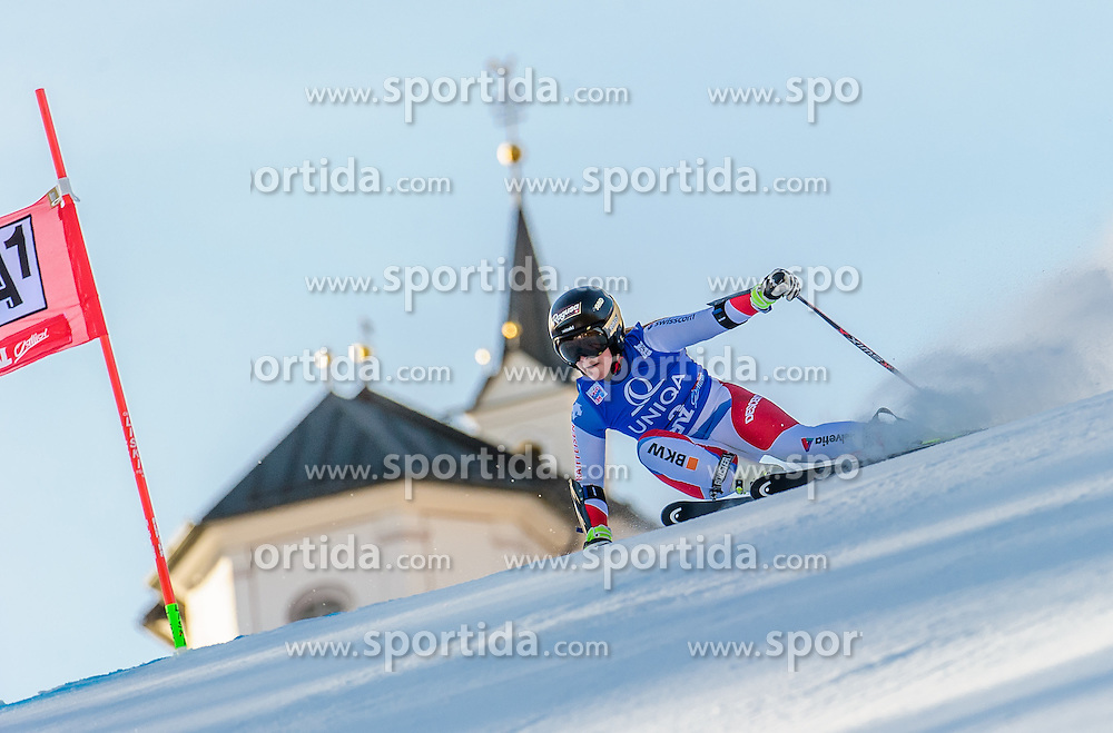 28.12.2015, Hochstein, Lienz, AUT, FIS Ski Weltcup, Lienz, Riesenslalom, Damen, 1. Durchgang, im Bild Lara Gut (SUI) // Lara Gut of Switzerland during 1st run of ladies Giant Slalom of the Lienz FIS Ski Alpine World Cup at the Hochstein in Lienz, Austria on 2015/12/28. EXPA Pictures © 2015, PhotoCredit: EXPA/ Michael Gruber