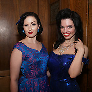 Wilhelmina Af Fera and Miss Sugar Rush at the London Burlesque Festival the VIP Opening Gala at Conway Hall on 18th May 2017, UK. by See Li