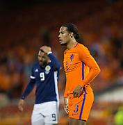 9th November 2017, Pittodrie Stadium, Aberdeen, Scotland; International Football Friendly, Scotland versus Netherlands; Holland's Virgil van Dijk