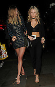 Kate moss sister Lottie  Moss (R) celebrate the latest season of In The Style in London<br /> ©Exclusivepix Media