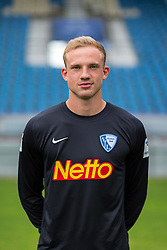 07.07.2015, Rewirpower Stadion, Bochum, GER, 2. FBL, VfL Bochum, Fototermin, im Bild Felix Dornebusch (Bochum) // during the official Team and Portrait Photoshoot of German 2nd Bundesliga Club VfL Bochum at the Rewirpower Stadion in Bochum, Germany on 2015/07/07. EXPA Pictures &copy; 2015, PhotoCredit: EXPA/ Eibner-Pressefoto/ Hommes<br /> <br /> *****ATTENTION - OUT of GER*****