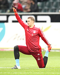 05.12.2015, Stadion im Borussia Park, Moenchengladbach, GER, 1. FBL, Borussia Moenchengladbach vs FC Bayern Muenchen, 15. Runde, im Bild Manuel Neuer (#1, Torwart, FC Bayern Muenchen),Borussia Moenchengladbach - FC Bayern Muenchen, Fussball, 1. Bundesliga, 05.12.2015, Foto: Deutzmann/Eibner // during the German Bundesliga 15th round match between Borussia Moenchengladbach and FC Bayern Muenchen at the Stadion im Borussia Park in Moenchengladbach, Germany on 2015/12/05. EXPA Pictures © 2015, PhotoCredit: EXPA/ Eibner-Pressefoto/ Deutzmann<br /> <br /> *****ATTENTION - OUT of GER*****