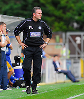 Photo: Leigh Quinnell.<br /> Wycombe Wanderers v Shrewsbury. Coca Cola League 2. 22/09/2007. Wycombe boss Paul Lambert looks on.