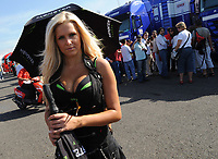 20091003: ESTORIL, PORTUGAL - Moto GP 2009 - Portugal Grand Prix: Qualifying. In picture: Pit Girl - MotoGP. PHOTO: Alvaro Isidoro/CITYFILES