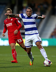 Joel Lynch of Queens Park Rangers runs with the ball - Mandatory by-line: Robbie Stephenson/JMP - 10/08/2016 - FOOTBALL - Loftus Road - London, England - Queens Park Rangers v Swindon Town - EFL League Cup