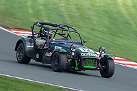 #12 Ed FULLER Caterham  during Armed Forces Race Challenge  as part of the 750 Motor Club at Oulton Park, Little Budworth, Cheshire, United Kingdom. April 14 2018. World Copyright Peter Taylor/PSP.
