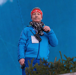 28.12.2015, Schattenbergschanze, Oberstdorf, GER, FIS Weltcup Ski Sprung, Vierschanzentournee, Training, im Bild FIS Renndirektor Walter Hofer // FIS race director Walter Hofer// during his Practice Jump for the Four Hills Tournament of FIS Ski Jumping World Cup at the Schattenbergschanze, Oberstdorf, Germany on 2015/12/28. EXPA Pictures © 2015, PhotoCredit: EXPA/ Peter Rinderer