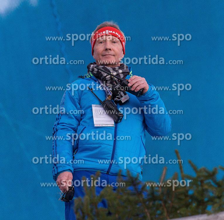 28.12.2015, Schattenbergschanze, Oberstdorf, GER, FIS Weltcup Ski Sprung, Vierschanzentournee, Training, im Bild FIS Renndirektor Walter Hofer // FIS race director Walter Hofer// during his Practice Jump for the Four Hills Tournament of FIS Ski Jumping World Cup at the Schattenbergschanze, Oberstdorf, Germany on 2015/12/28. EXPA Pictures © 2015, PhotoCredit: EXPA/ Peter Rinderer