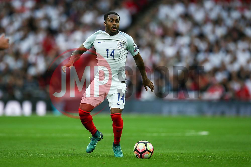 Danny Rose of England in action - Mandatory by-line: Jason Brown/JMP - 08/10/2016 - FOOTBALL - Wembley Stadium - London, United Kingdom - England v Malta - FIFA European World Cup Qualifiers