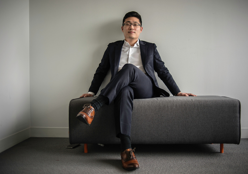 WASHINGTON, DC -- 12/6/17 -- Tim Hwang is the founder and CEO of FiscalNote which uses AI, analytics and natural language processing to automate and analyze government tasks and data…by André Chung #_AC16368