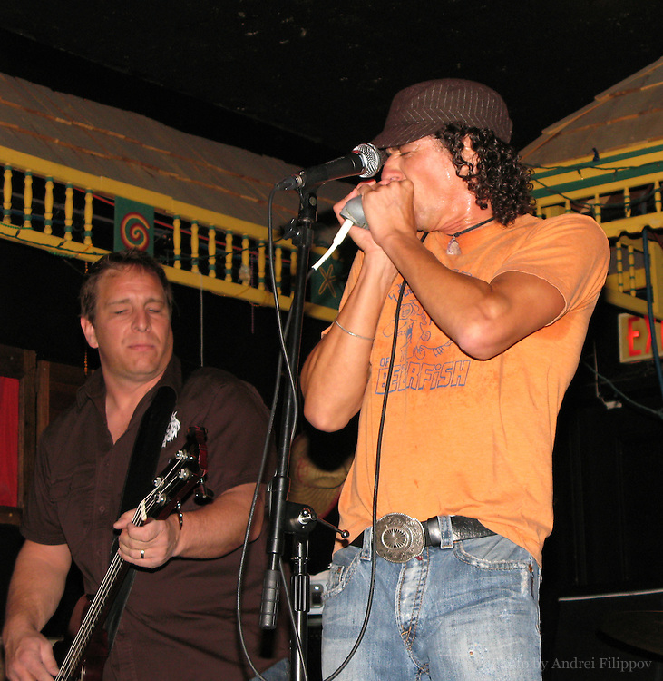 Nov 3, 2007 - Ottawa, ON. David Rotundo and his band playing in The Rainbow bar in Ottawa ON Canada.<br /> David Rotundo - vocals, harmonica;<br /> Shane Scott - bass, vocals;<br /> Dan Dufour - guitar;<br /> Chuck D. Keeping - drums;<br /> Des Brown - guitar.<br /> www.davidrotundo.com