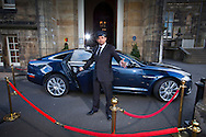 10:05:2010.. .The new Jaguar XJ at Marr Hall..Driven by Motors Ed Phil Lanning... ..Pic:Andy Barr.07974 923919  (mobile).andy_snap@mac.com.All pictures copyright Andrew Barr Photography. .Please contact before any syndication. .